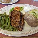 steak - was good