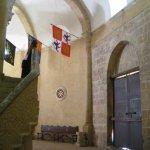 Inside Vera Cruz church