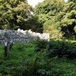 Ruins of the church on Inchagoill Island