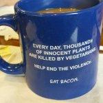 Double sized coffee mug!