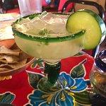 great pepper and cucumber margarita