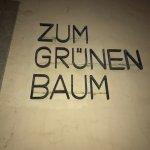 Gasthaus Zum Grünen Baum Altenhain Foto