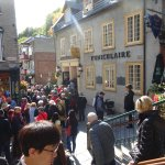It is crowded with tourists-the Funiculaire that takes you up to the area of the upper city