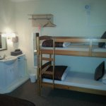 The 4 berth family room - bunk beds