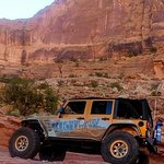 On the Moab Rim!