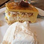 the mango cake