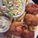 Fish and chips (Cod) very good