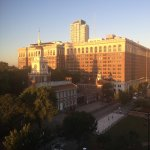 Morning sun on Independence Hall