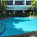 Beatiful pool area