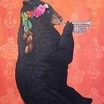 """Basin street Bear"" by Heather Gauthier"