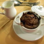 I particularly loved their chocolate and pear pudding!