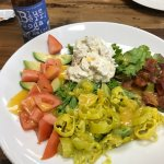 Chicken Avocado salad....SO GOOD!!!