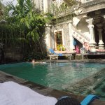 Refreshing pool. Nice area