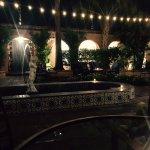MixUp Restaurant courtyard