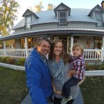 Our Family visiting Bidwell House