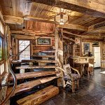 Grizzly cabin interior