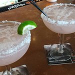 Silver Surfers, watermelon infused margaritas (Ok, but I don't taste the watermelon)