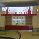 Front of Vino Volo at JFK Airport