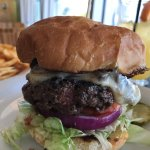 Build your own Burger w/ mushrooms & Jack cheese