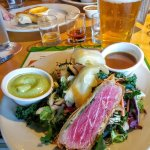 Split ahi salad - very good