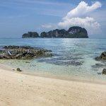 Bamboo Island beach