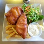 Fish&chips with tartare sauce