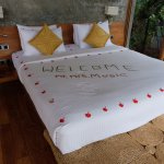 Little message since it was our honeymoon!