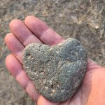 found lots of heart rocks!!