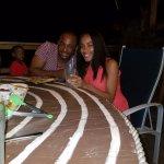 Larry and Fabiola at Jessica birthday night