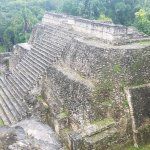 Caracol Mayan Ruins from the Top