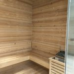 Sauna room for ladies
