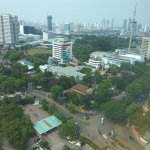 View from room, the TVRI tower