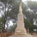 Elijah statue at nearby Carmel Monastery