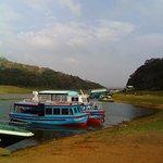 The boats at Periyar river.