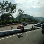 Salem Hights! A quick view from Yercaud to Salem drive!!