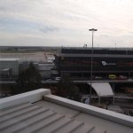 Runway view from our room