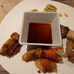 Sushi, Crabs, Lechon