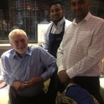 Welcome mr. Jeremy Corbyn at Salim's . He really enjoyed the curry.