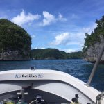 Beautiful boat rides out to each dive site!