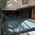 Swimming pool in the Spa