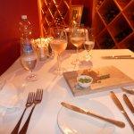 The romantic wine cellar
