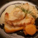 Langoustine, courge butternut, ponzu et vandouvan