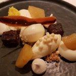 Ananas, noix de coco et chocolat blanc
