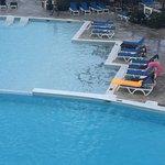 Fantastic lobster, pool tiles dangerous