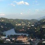views of Kandy lake
