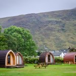 2 and 4 berth Camping Pods