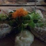 Cod and white polenta - primo course offering