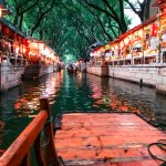 the beautiful water alley of Tongli