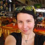 Me at Nikos Restaurant