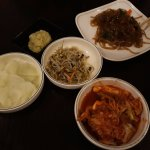 Banchan with Japchae